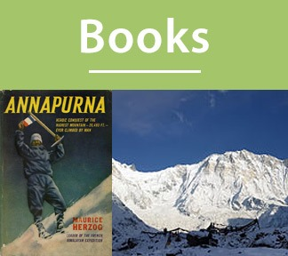 Epic books on adventures and mountaineering