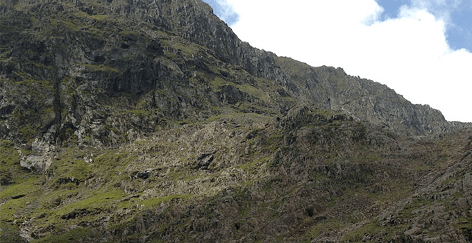 Scrambling in Wales