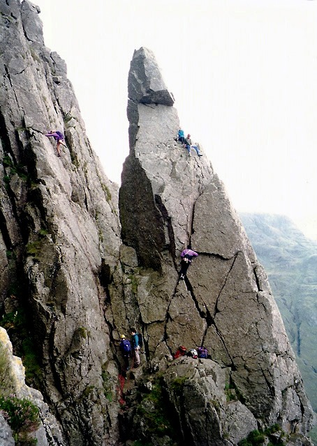 Threading The Needle on Great Gable