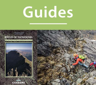 A collection of guide books for scrambling