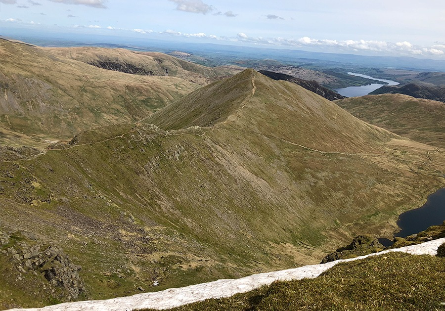 View of Swirral Edge