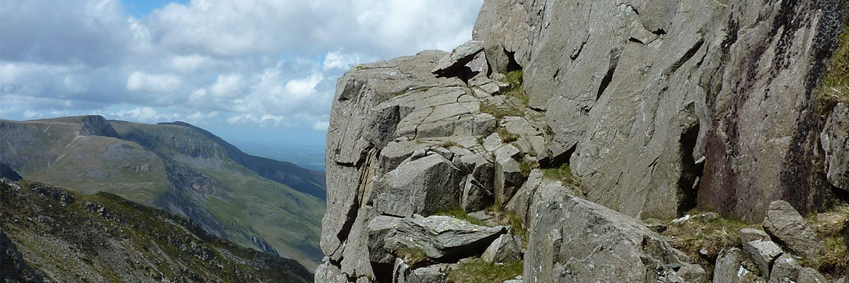Welsh scrambling routes
